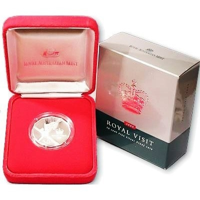 2000 50 Cent Silver Proof Coin – The Royal Visit